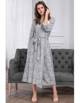 Длинный женский халат Mia-Mia Melange 6739