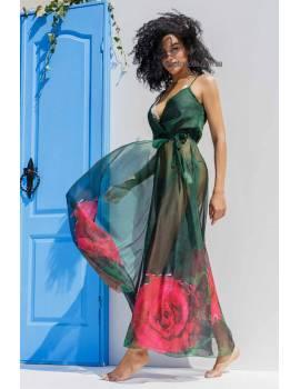 Пляжное платье на запах Mare Ora 9050