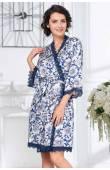 Короткий женский халат Mia-Amore Elizabeth 8453