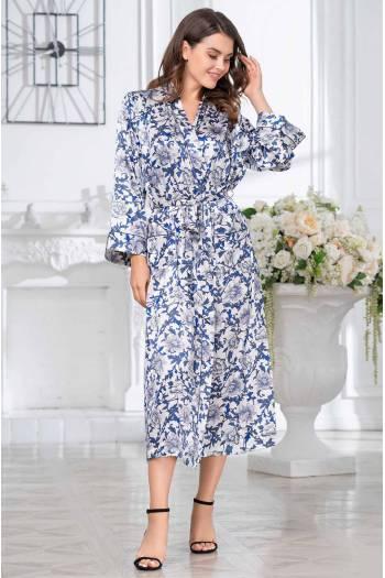 Длинный халат Mia-Amore Elizabeth 8459