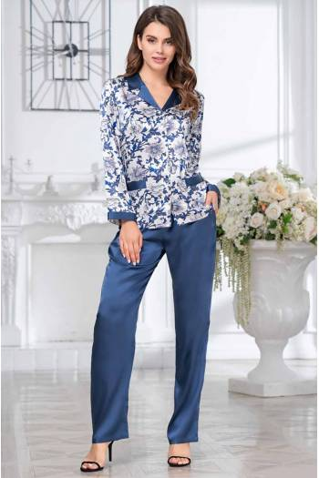 Комплект для дома с брюками Mia-Amore Elizabeth 8456