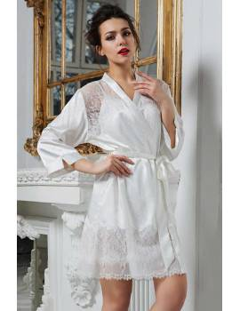 Короткий женский халат Mia-Amore Princess 8043