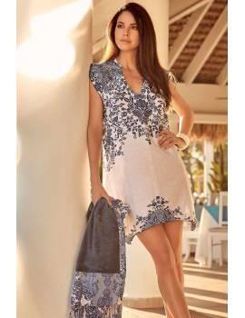 Пляжное платье David 19030 DB