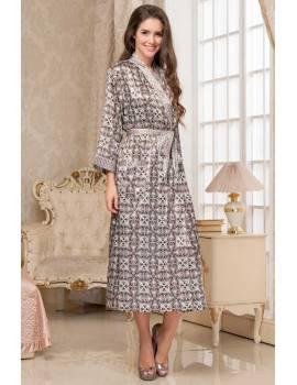 Довгий халат Mia-Amore Patricia 8419