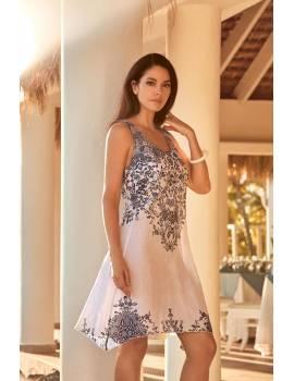 Пляжное платье без рукавов David 19031 DB