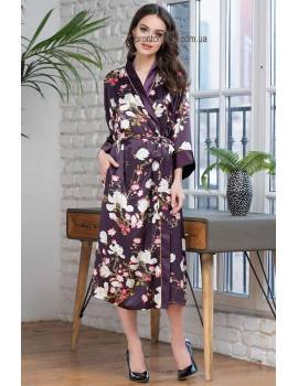 Длинный халат Mia-Amore Magnolia 3529