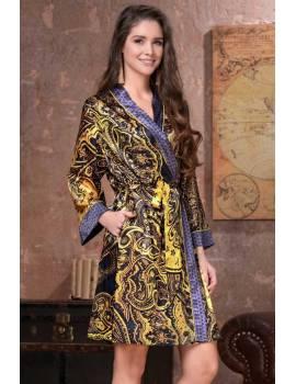 Женский халат Armani Gold 3493