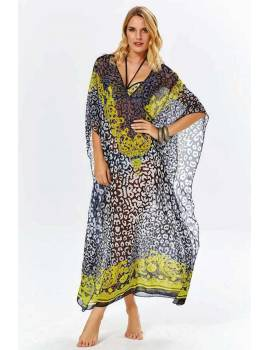 Довга сукня для пляжу Argento 9083-1240