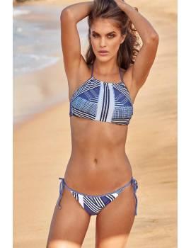 Раздельный купальник халтер Miss Marea 9420