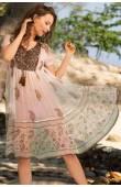Платье-туника из вискозы Amore Vizantia 6945