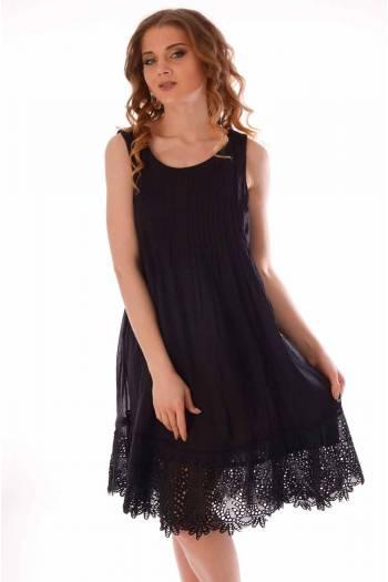 Платье черное  Iconique 19015 IC