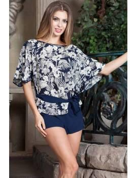 Комплект з шортами з віскозаи Mia-Mia Veronica 16182
