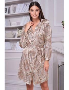 Туника-халат с длинным рукавом Mia-Amore Clementina 3455
