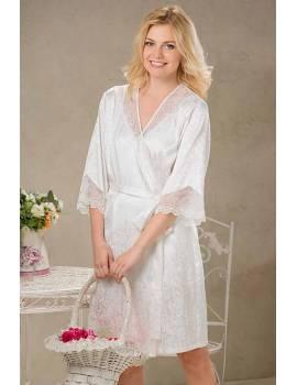 Короткий халат на запах Mia-Amore Nataly 9613