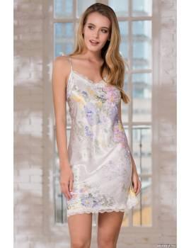 Коротка шовкова сорочка Lilianna 3254
