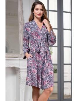 Короткий жіночий халат Mia-Amore Aurelia 1243