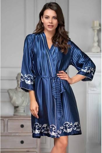 Жіночий короткий халат Barocco 8616
