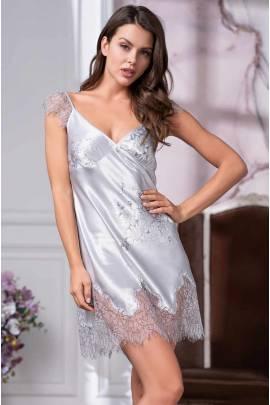 Нічна сорочка з подрезом під грудьми Mia-Amore Kelly 3571