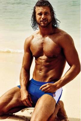 Мужские пляжные шорты David DM 7030