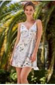 Короткая шелковая сорочка Mia-Amore Novella 3600