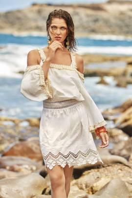 Туника с вышивкой  Amarea 2064