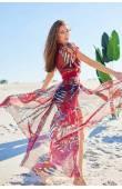 Пляжне плаття на запах Ora 10120