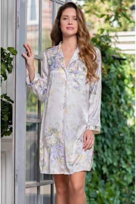 Туника-рубашка шелковая Lilianna 3257