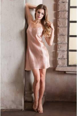 Коротка шовкова сорочка Mia-Mia Agata 15120