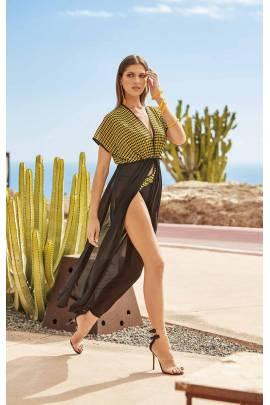 Длинное пляжное платье Amarea 07920