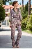 Комплект-тройка жакет топ брюки Mia-Amore ESTEL 3616