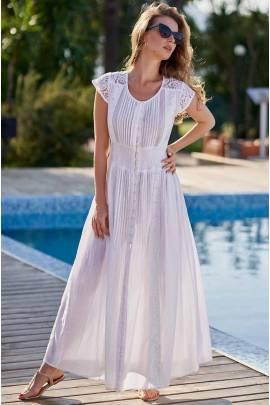 Белый длинный сарафан Mia-Amore ARGENTINA 1380