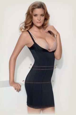 Коригуюча сукня без чашок Dana