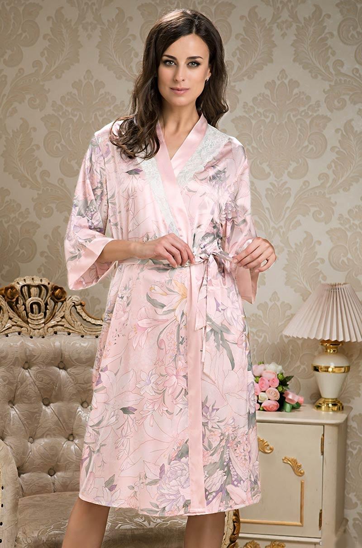 Длинный халат Mia-Mia Edem 5959