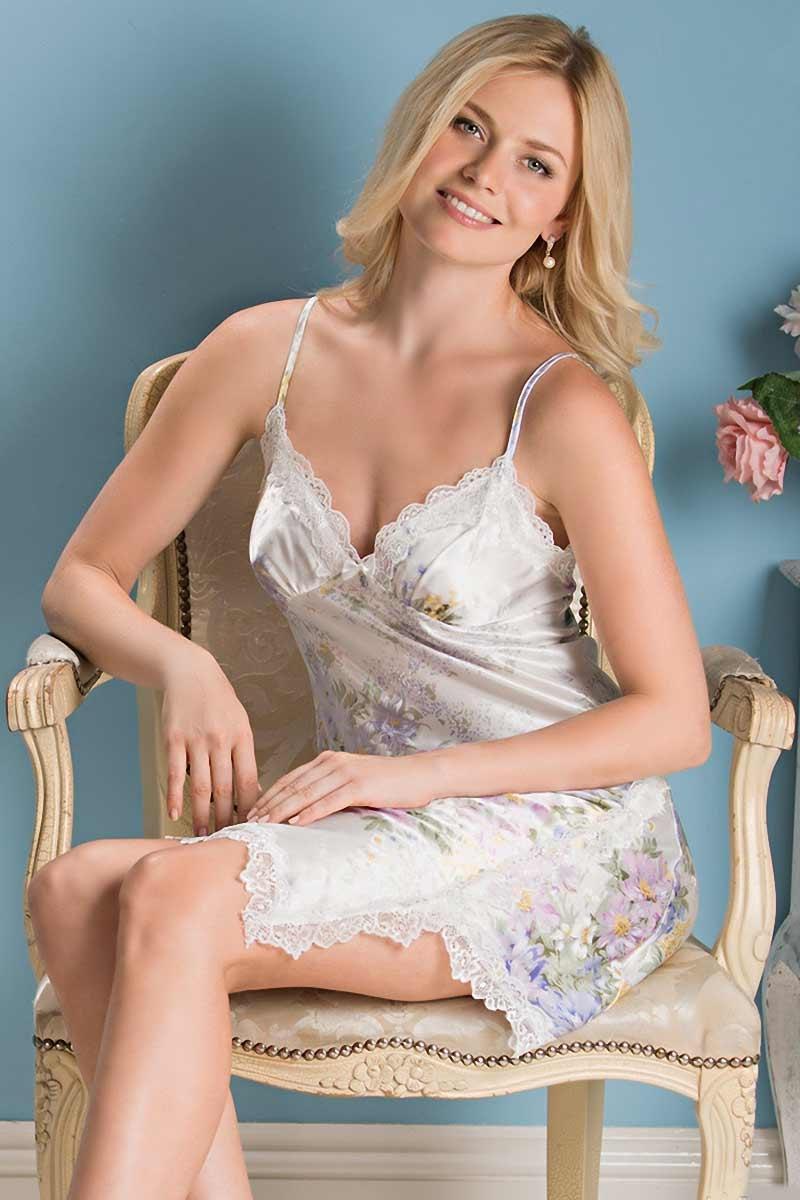Сорочка шелковая Lillianna 5990
