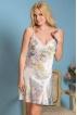 Короткая сорочка из шелка Lillianna 5991