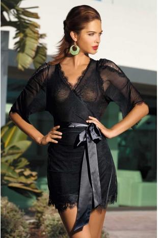Прозрачный халат Mia-Mia Elegance 2009