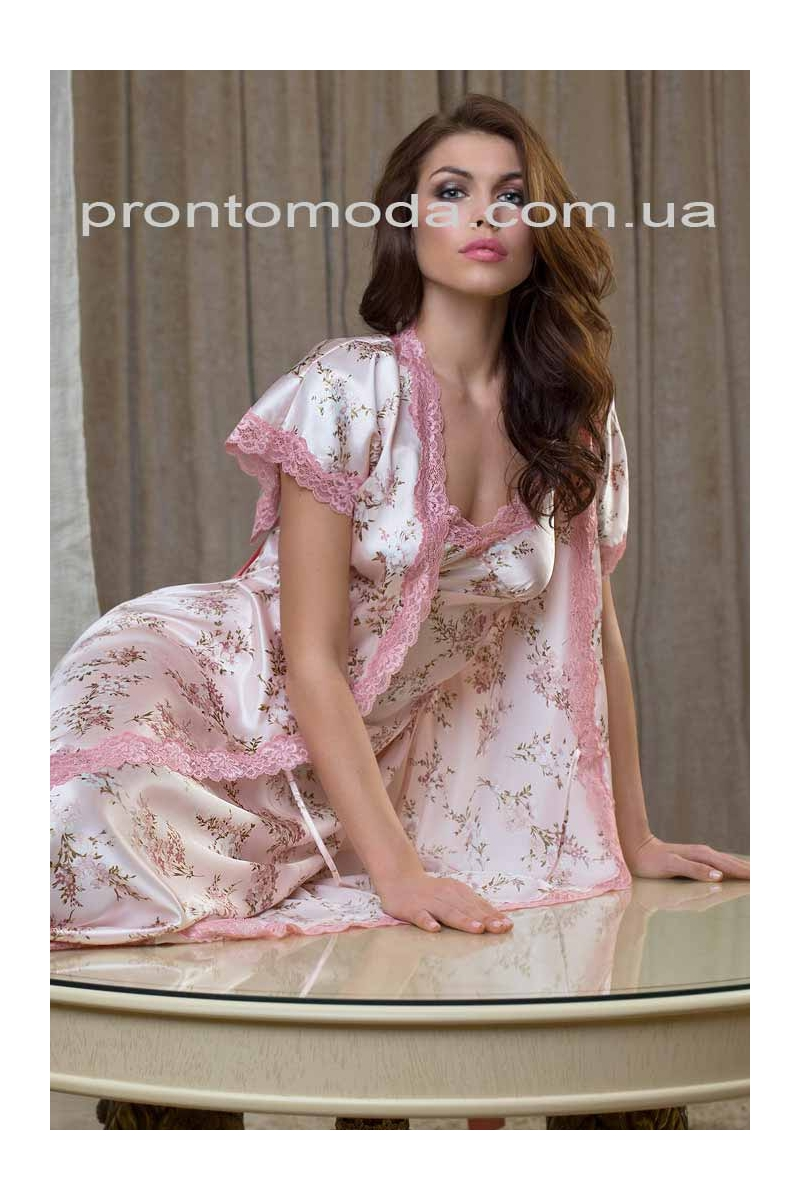 Довгий халат Luisa 17339