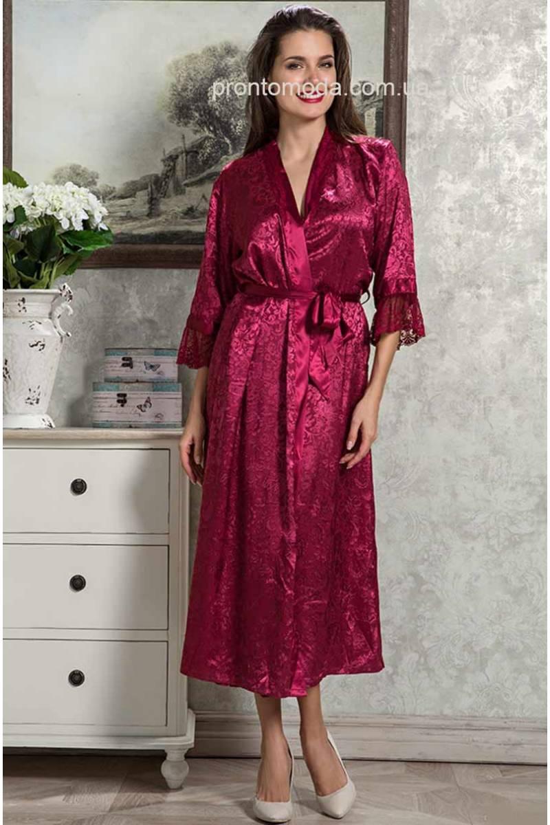 Довгий халат Mia-Mia 9539