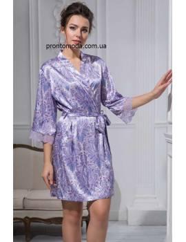 Короткий халат Lavanda 9993