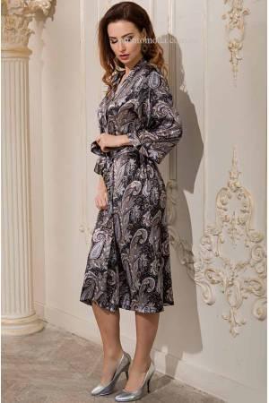 Халати довгі жіночі - трикотажні і шовкові халати bf424a693979c