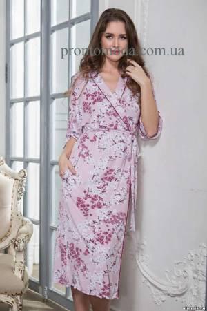 Длинный халат Mia-mia Sakura 6449