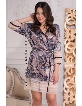 Короткий халат Mia-mia Linda 3283