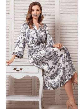 Длинный халат Mia-Mella Paulina 8169