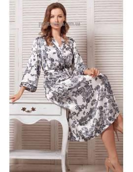 Довгий халат Mia-Mella Paulina 8169