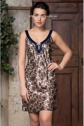 Короткая рубашка из шелка Persia 3401
