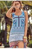 Пляжный сарафан-платье David 18025 DB
