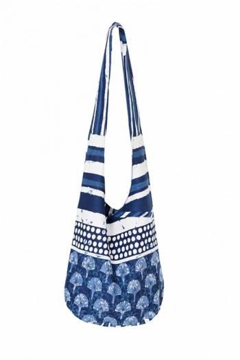 Пляжная сумка-авоська через плечо David 18021