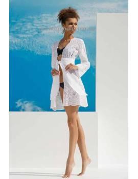 Пляжний халат из хлопка Ora 01871