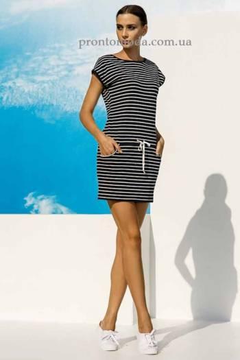 Платье пляжное в полоску MareОra 03118