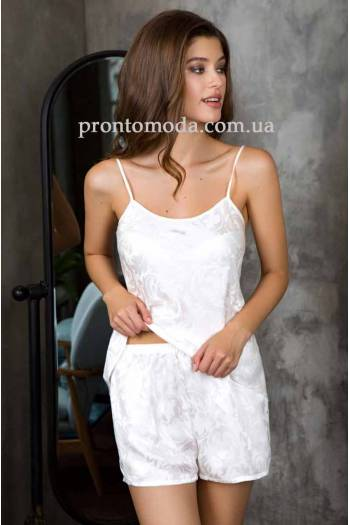 46ecb36a3ec6 Комплект для дома топ и шорты Mia-Mia Eva 15152